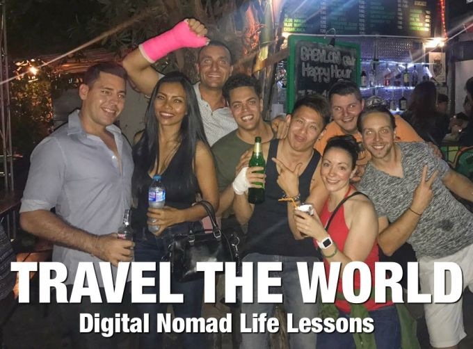 Travel The World - Digital Nomad Life Lessons