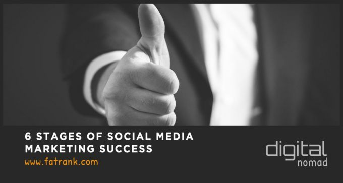 6 stages of social media marketing success