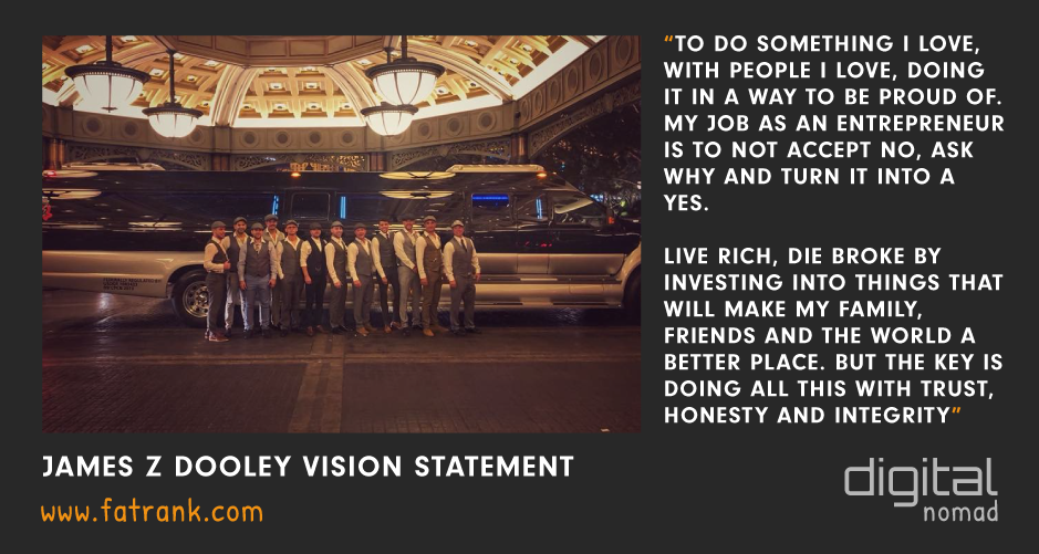 James z Dooley Vision Statement Peaky Blinders