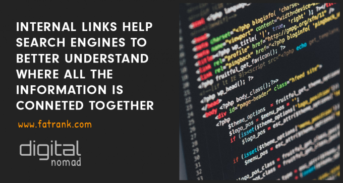 internal links help search engines