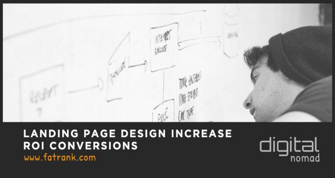 landing page design increase roi conversions