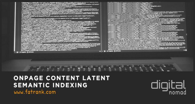 onpage content latent semantic indexing