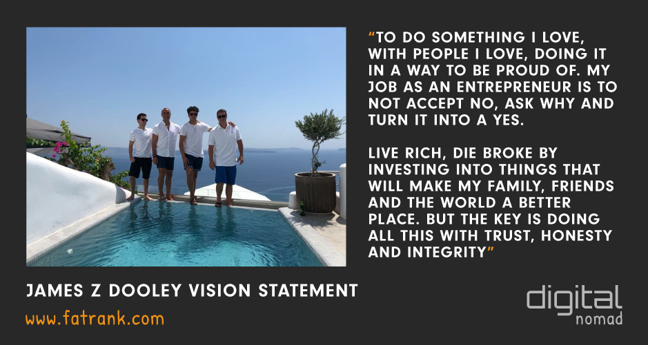 James z Dooley Vision Statement Adam OHern