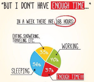 don't have enough time