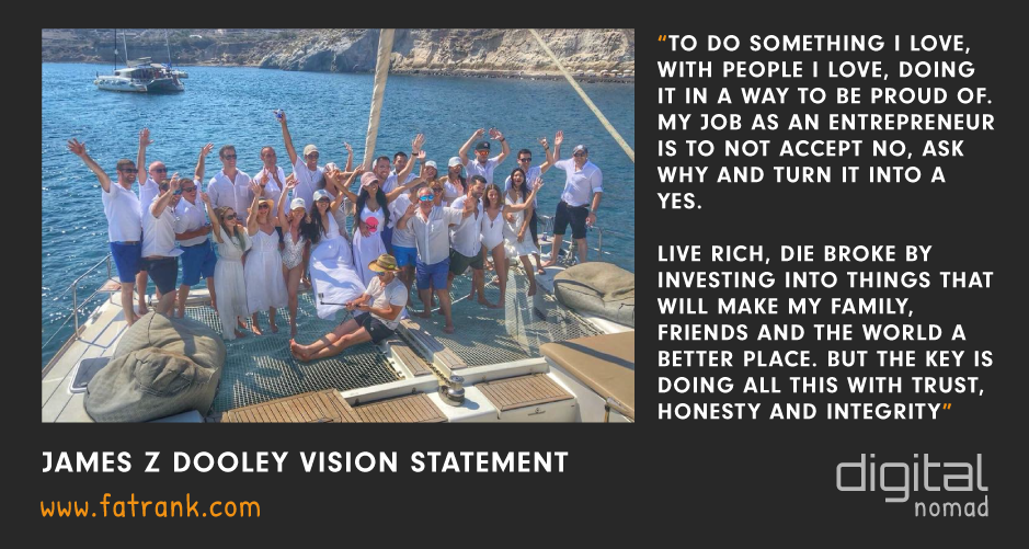 James z Dooley Vision Statement Jason Karpouzis