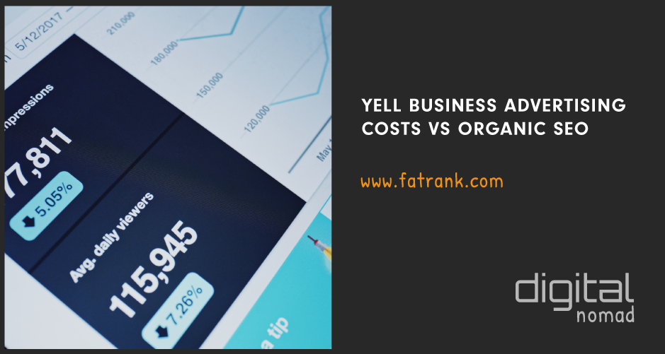 Yell Business Advertising Costs Vs Organic SEO