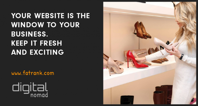 keep your website fresh