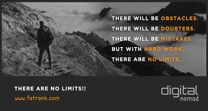take action there are no limits