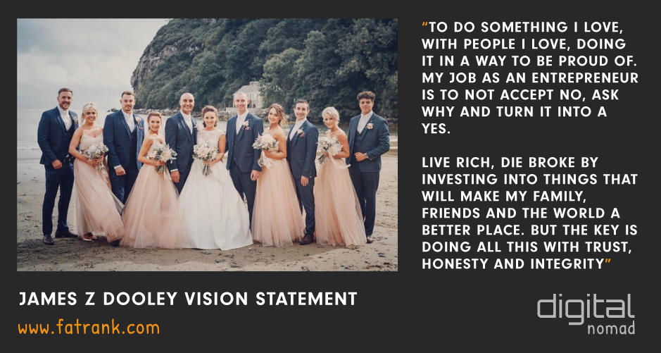 James z Dooley Vision Statement Abersoch