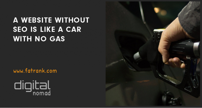 website without seo car without gas