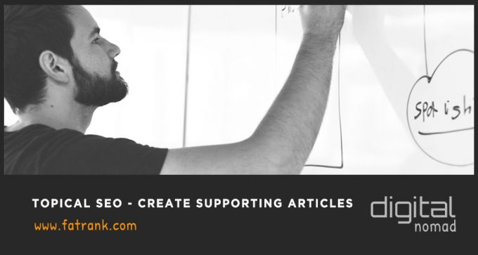Topical SEO – Create Supporting Articles