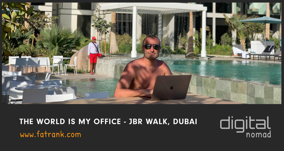 JBR Walk Dubai - Digital Nomad