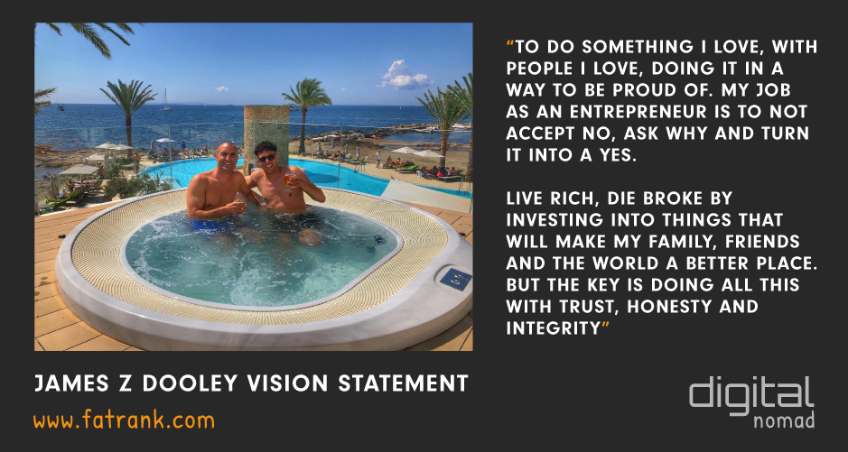 James z Dooley Vision Statement Rick Hope