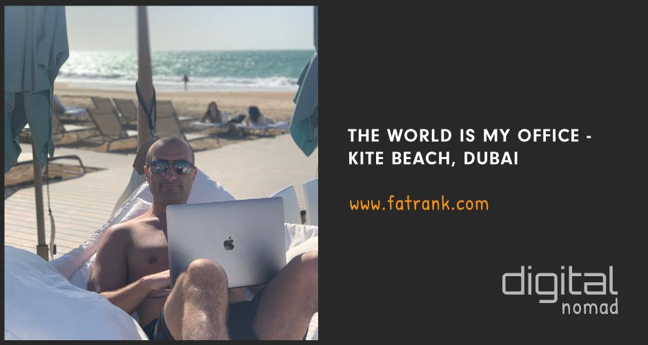 Kite Beach Dubai - Digital Nomad SEO