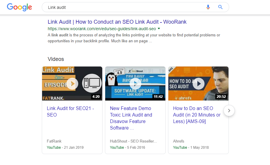SEO CTR in combination helping the video rank
