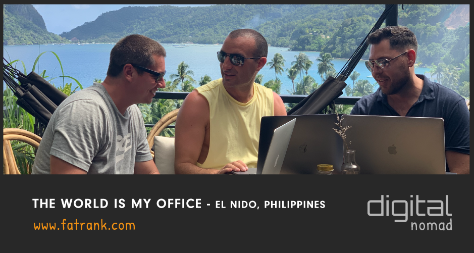 The World Is My Office - El Nido, Philippines