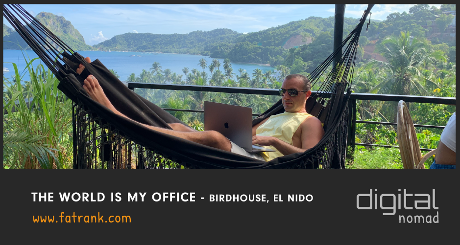 The World Is My Office - El Nido