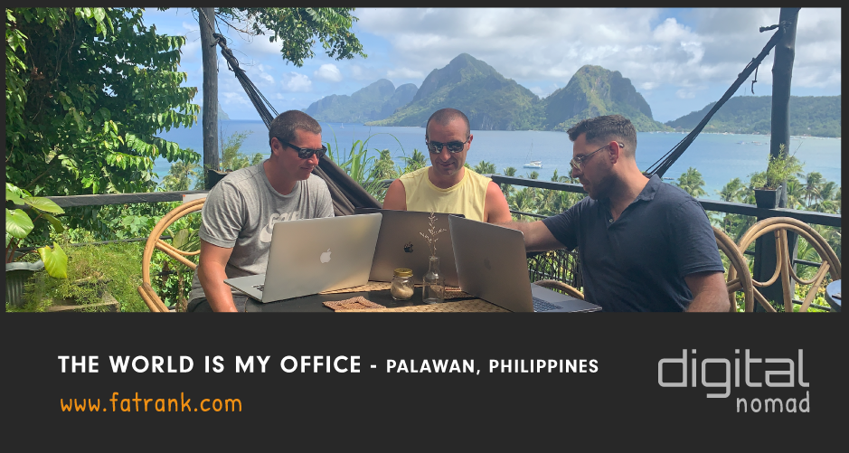 The World Is My Office - Palawan, Philippines