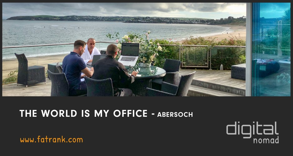 The World is My Office - Abersoch, Wales
