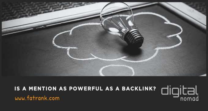 Is a Mention as Powerful as a Backlink?