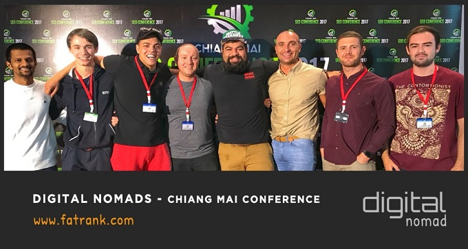 Digital Nomads at Chiang Mai Conference