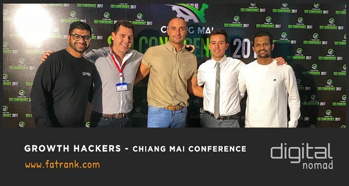 Growth Hackers at Chiang Mai Conference