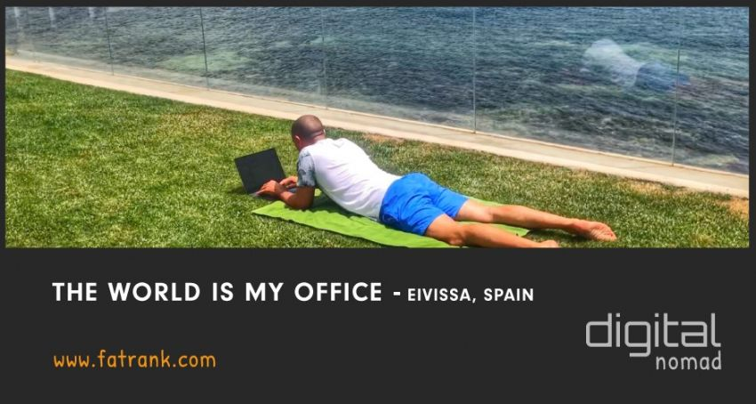 The World is My Office - Eivissa, Ibiza