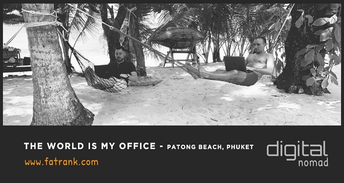 The World is My Office - Patong Beach, Phuket