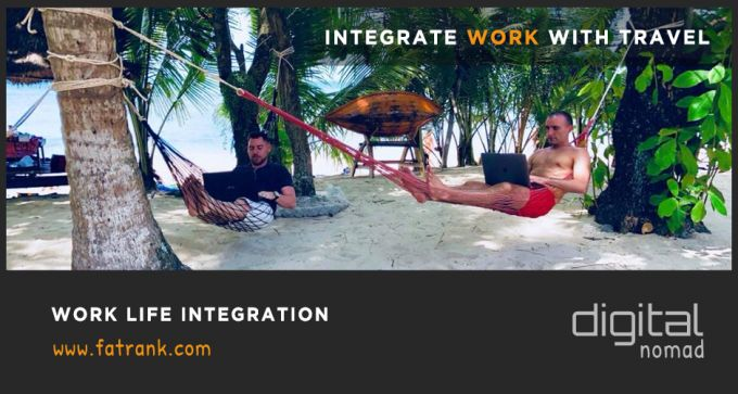 integrate work with travel