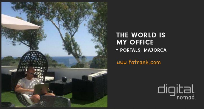Portals Nous Laptop Lifestyle