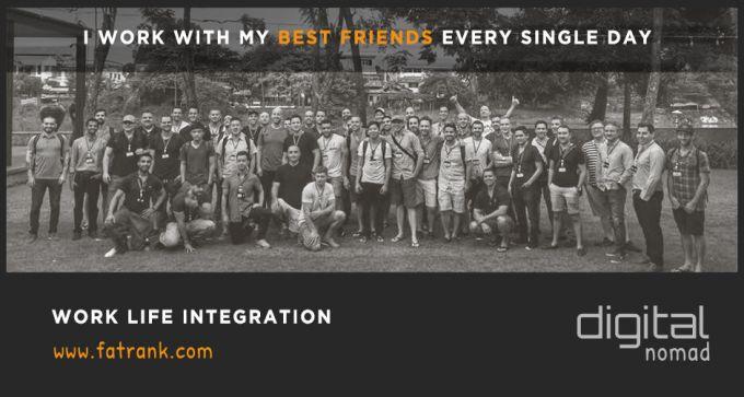 work life integration best friends