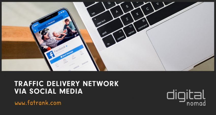 Traffic Delivery Network via Social Media