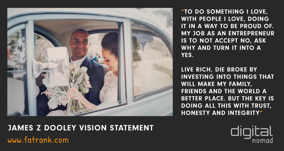 James z Dooley Vision Statement Wedding