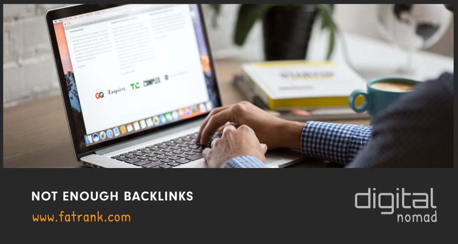 Not Enough Backlinks