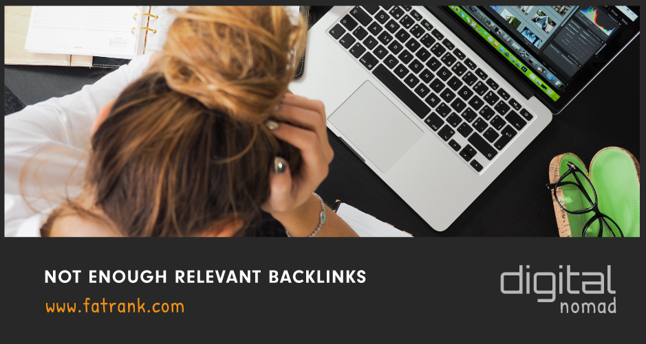 Not Enough Relevant Backlinks
