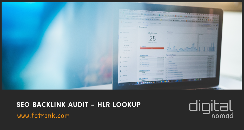 SEO Backlink Audit – HLR LOOKUP