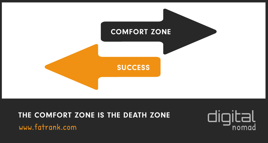 Success Happens Outside Your Comfort Zone