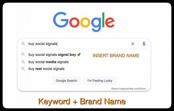 Google Suggest Manipulation - Signal Boy