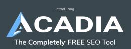 Acadia Rank Tracker