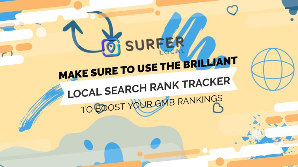 Local Search Rank Tracker Surfer Local