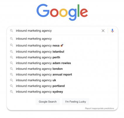 Nexa Google Autocomplete Example