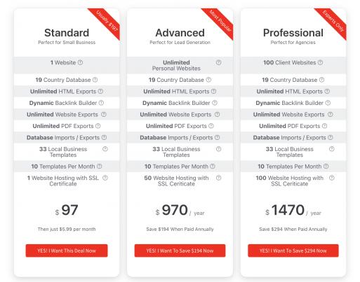 Magic Page Plugin Pricing Plans
