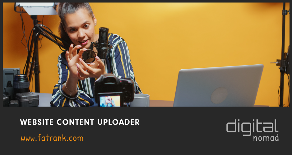 Website Content Uploader