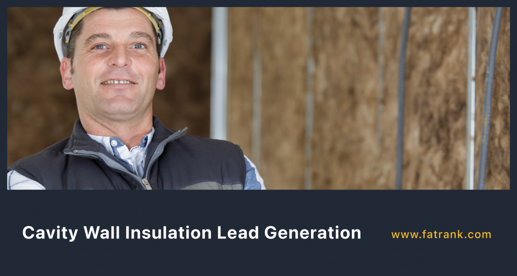 Cavity Wall Insulation Lead Generation