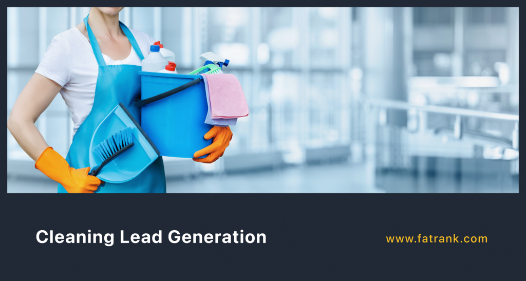 Cleaning Lead Generation
