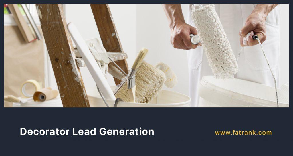 Decorator Lead Generation
