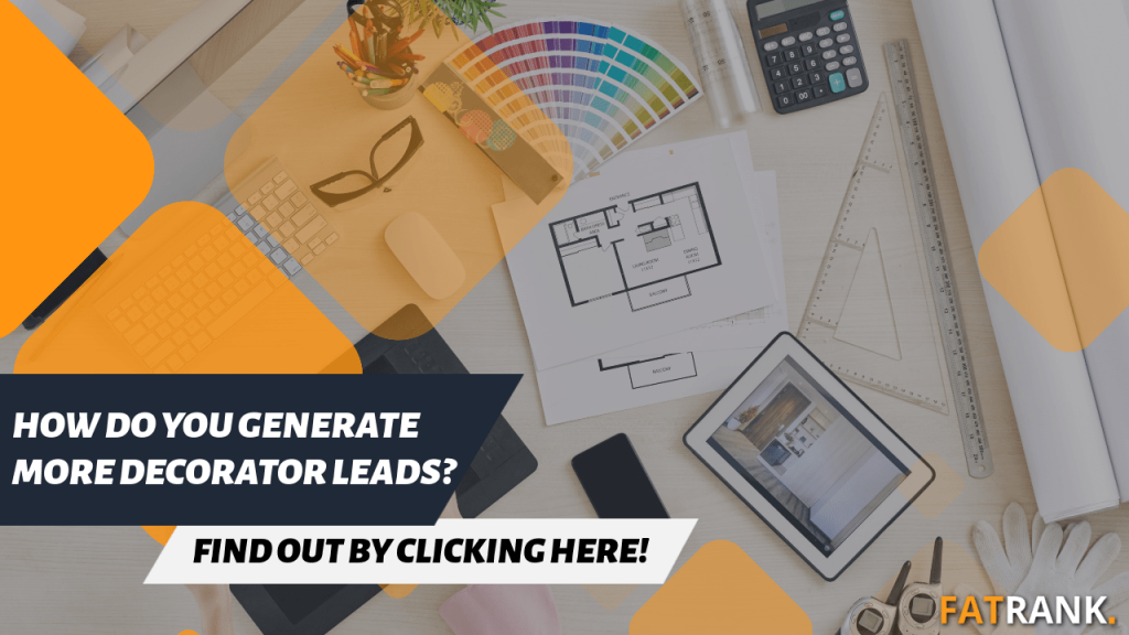 How do you generate more decorator leads