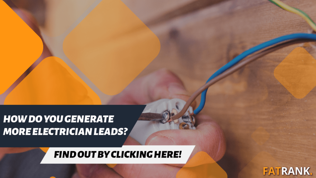How do you generate more electrician leads