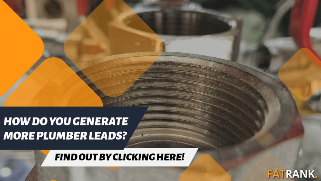 How do you generate more plumber leads
