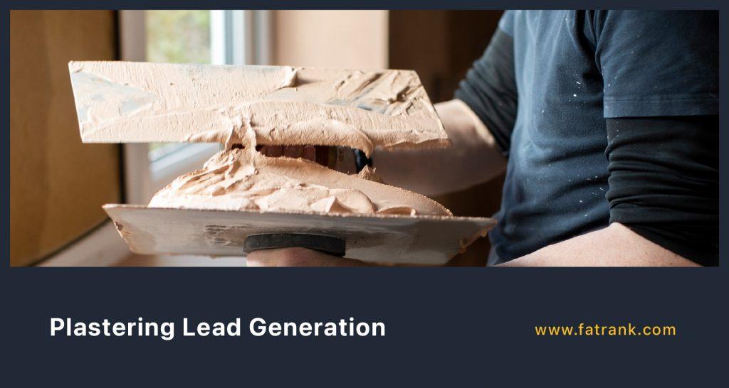 Plastering Lead Generation